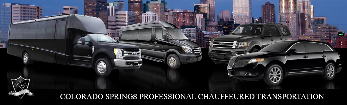 Colorado Springs Professional Corporate Transportation & Special Event Limousine Services