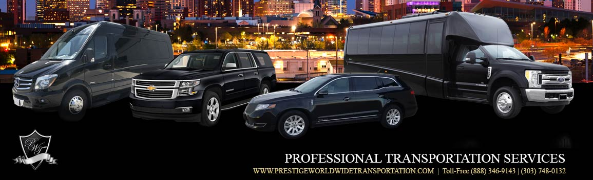 Berthoud Limousine Service and Professional Transportation Services
